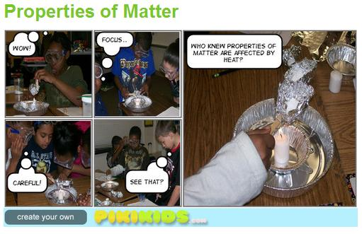 Properties of Matter Pikikids